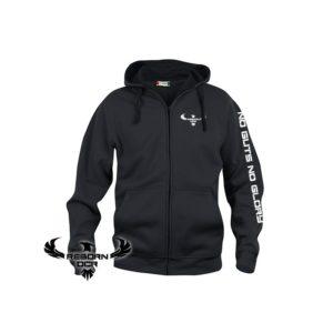 Clique Basic Hoody Full Zip, Men – Black – Reborn